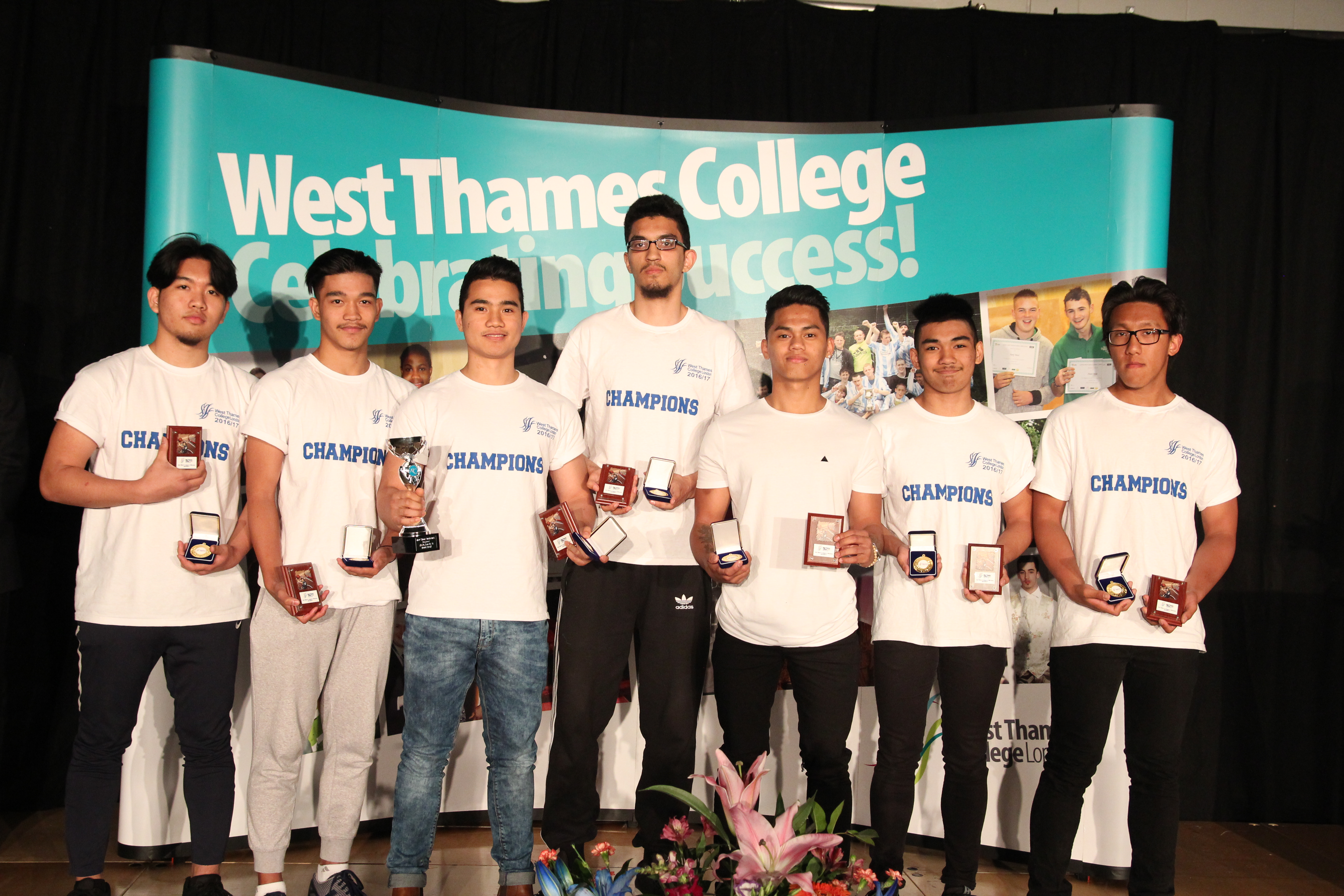 West Thames College Basketball Team