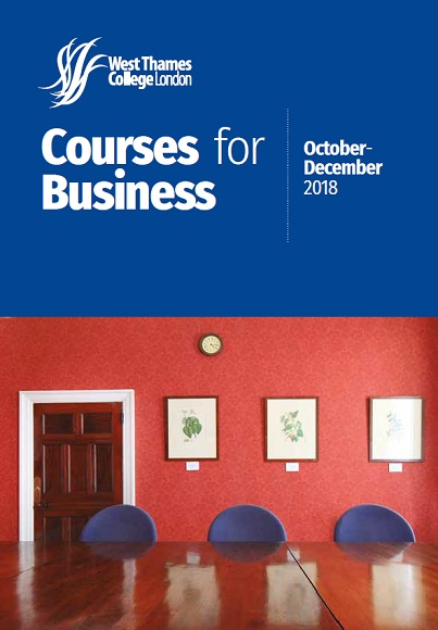 Courses for Business Oct Cover