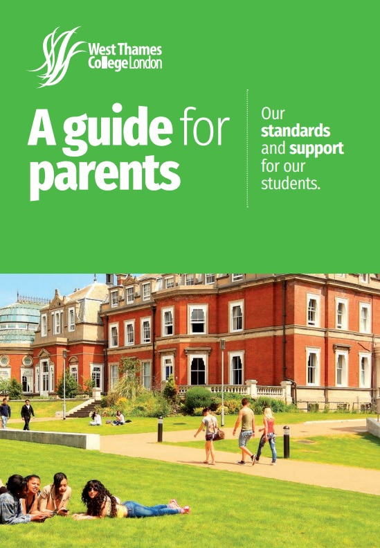 Guide for parents cover