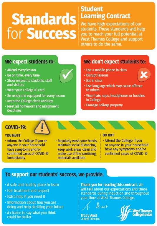 Standards for success