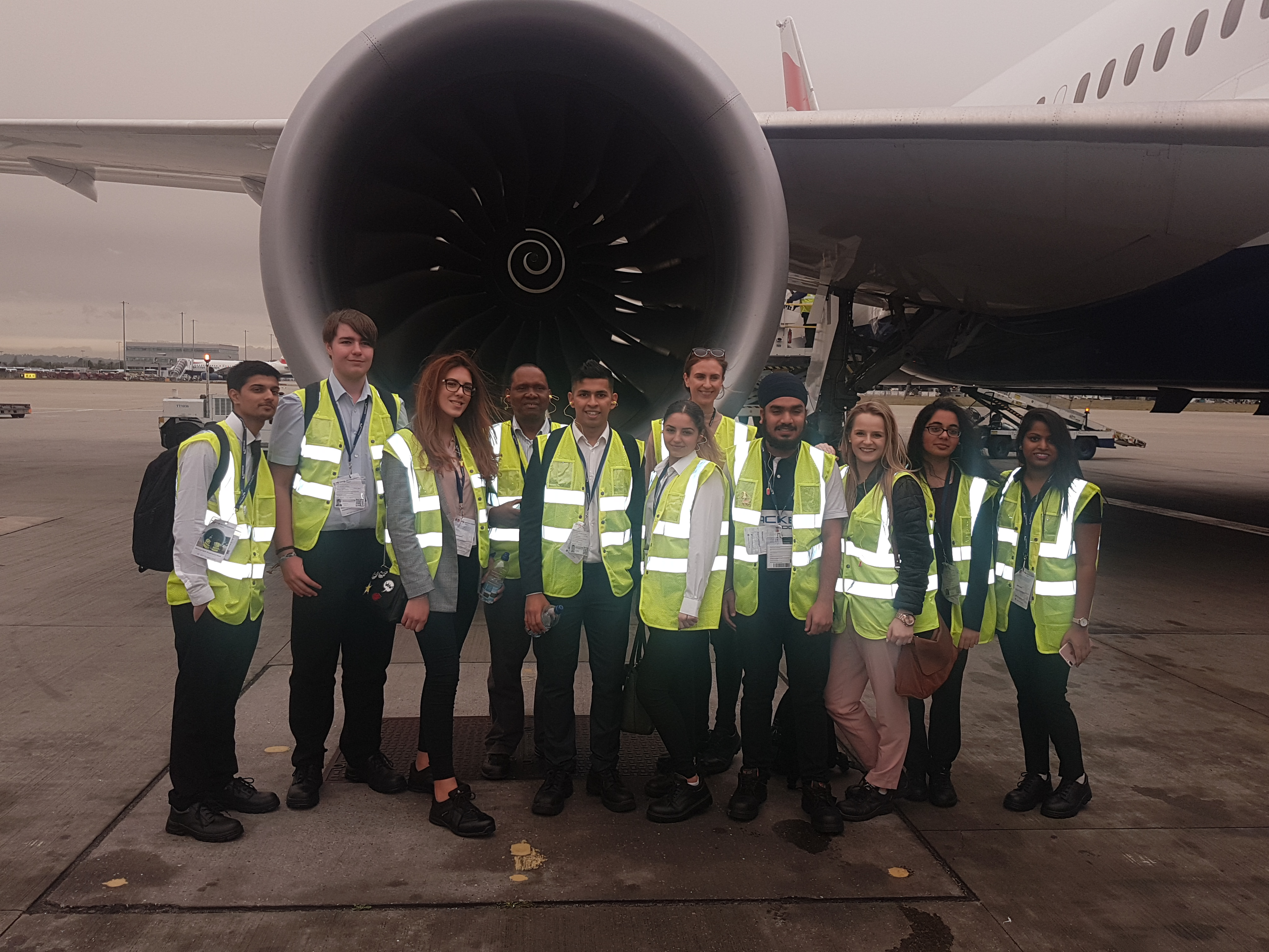 BA national WEX week at Heathrow 2017