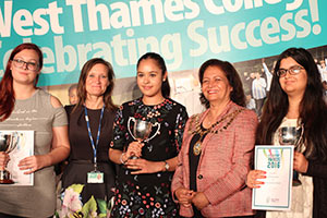 West Thames College Celebrating Success!