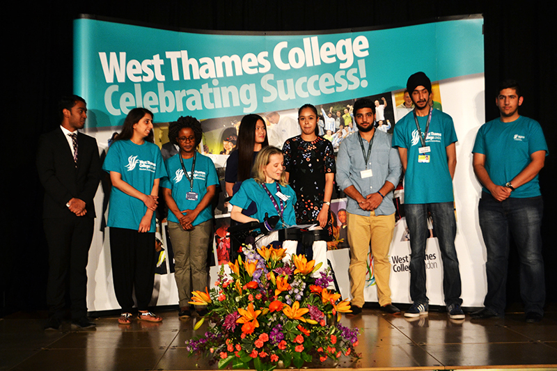 Celebrating our West Thames College Student Ambassadors