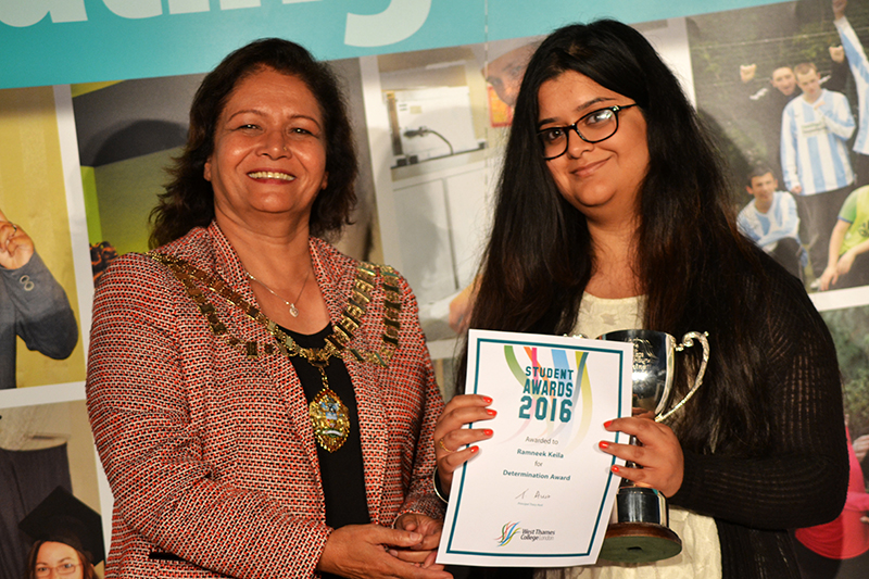 Ramneek Keila - Determination Award