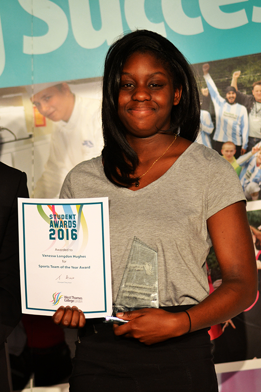 Vanessa Longdon Hughes - Sports Team