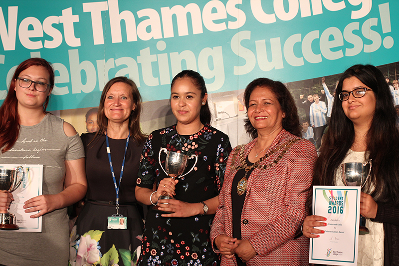 West Thames College Students of the Year