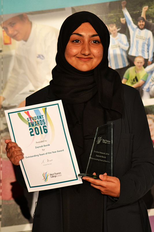 Zaynab Barok - Outstanding Team