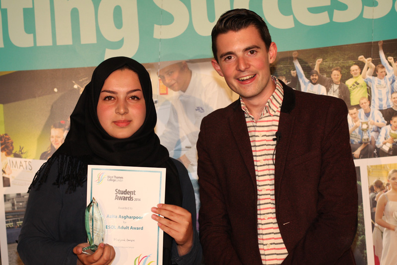 Azita Asgharpoor, ESOL for Adults Award