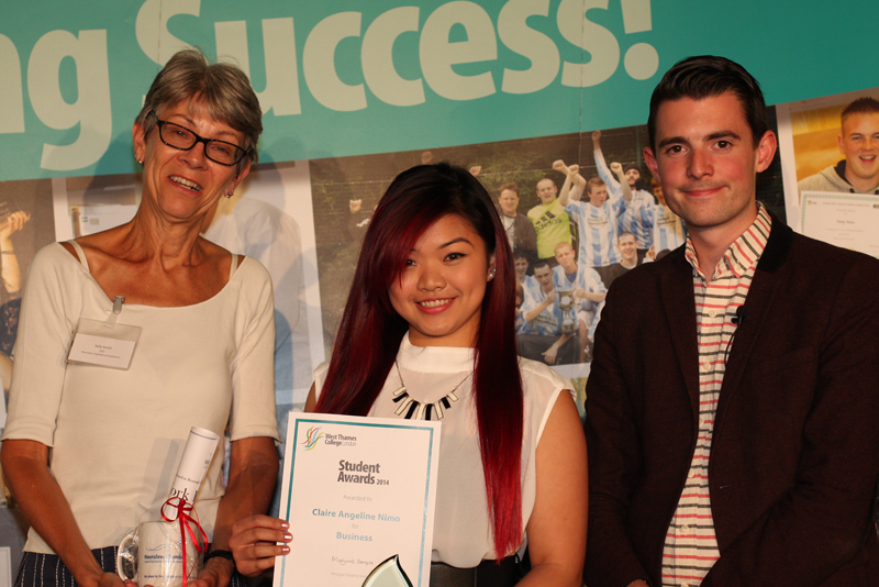 Claire Angeline Nimo, Business - Sponsored by Hounslow Chamber of Commerce