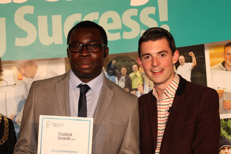 Ezra Acheampong, Ernest Harrison Adult Learner of the Year Award