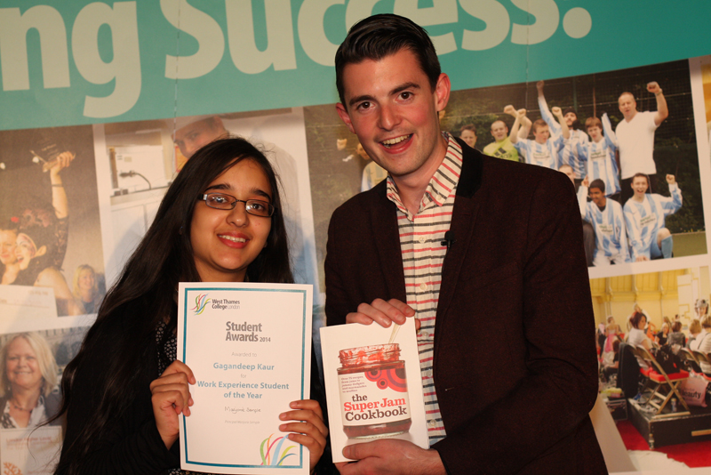 Gagandeep Kaur, Work Experience Award - Sponsored by SuperJam