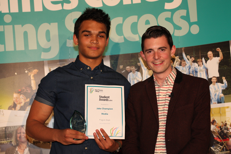 Jake Champion, Media award