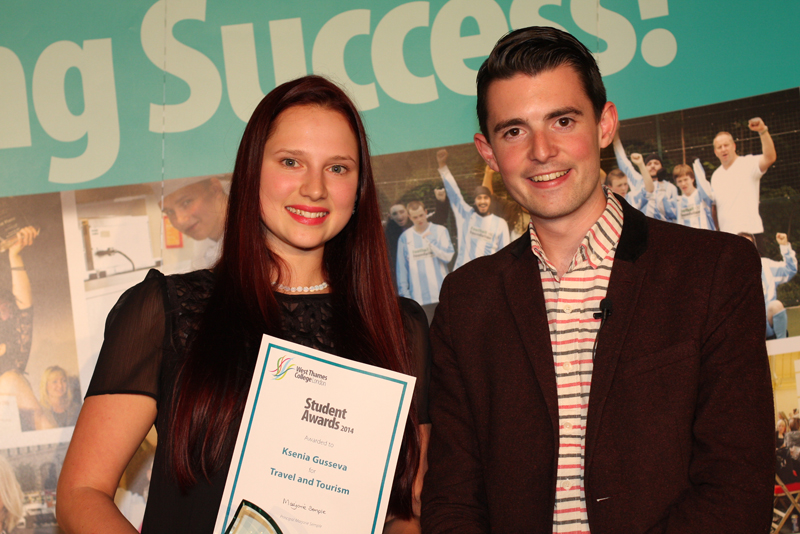 Ksenia Gusseva, Travel and Tourism Award