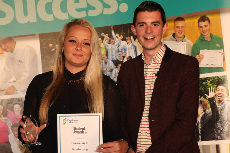 Lauren Cripps, Hairdressing Award - Sponsored by Dennis Williams Hair Supplies
