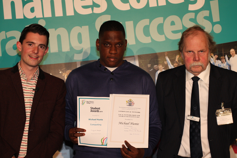 Michael Hunte, Computing Award - Sponsored by IET