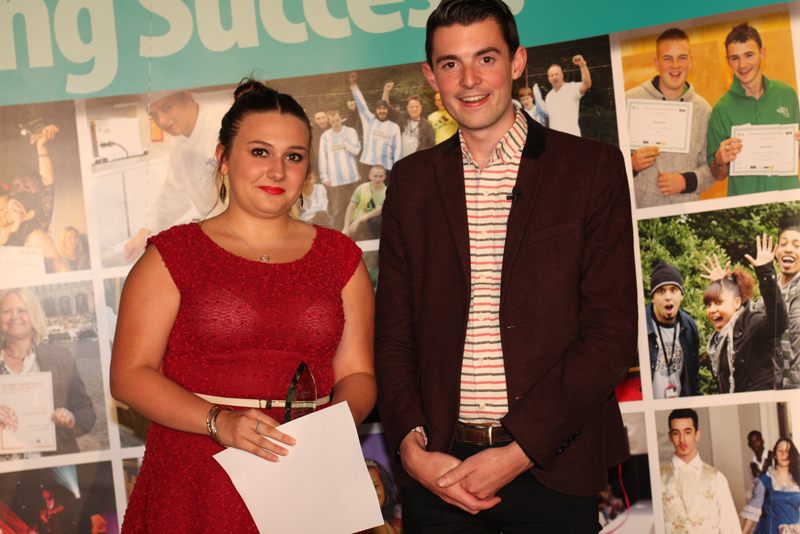 Nicola Tomkins, Art and Design Award