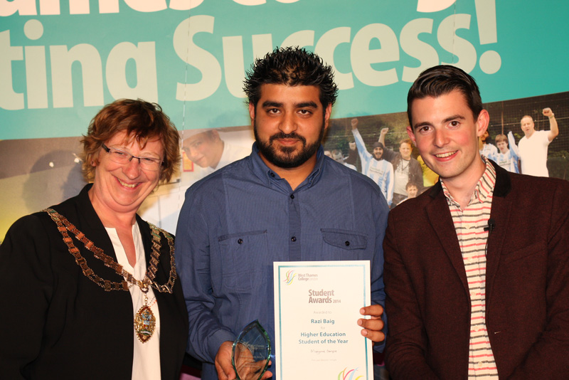 Razi Baig, Higher Education Student of the Year Award