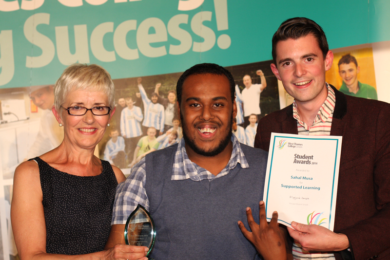 Sahal Musa, Supported Learning Award