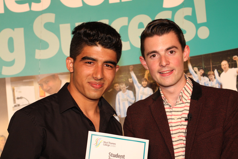 Sahil Fazli, ESOL Threshold Award