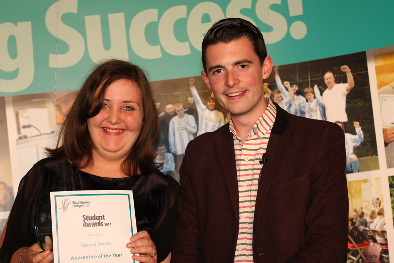 Stacey Smith, Apprrentice of the Year Award
