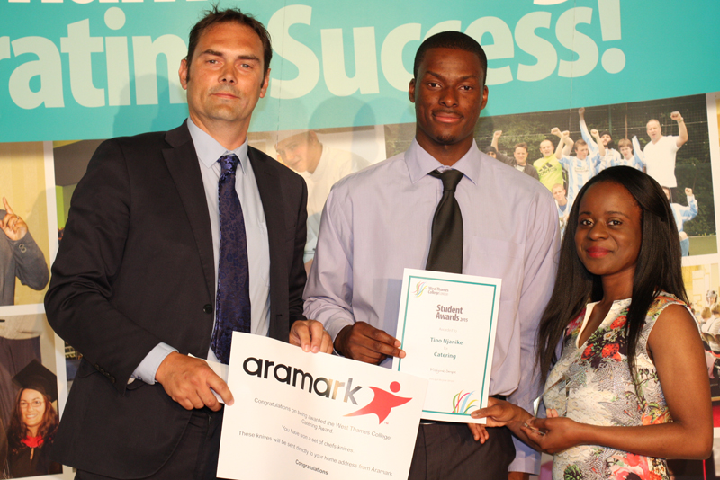 Tino Njanike-Catering-sponsored by Aramark